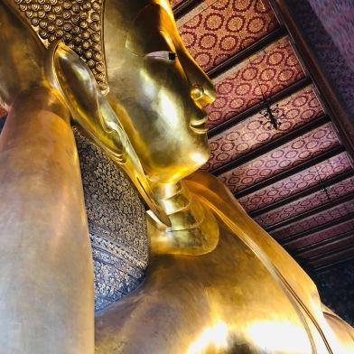 The Golden Reclining Buddha at Wat Pho