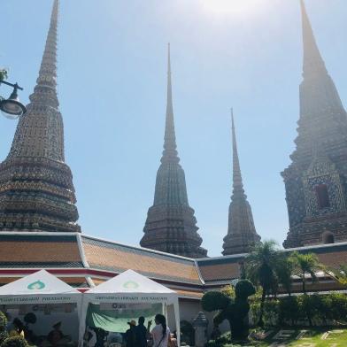 Spires of Wat Pho